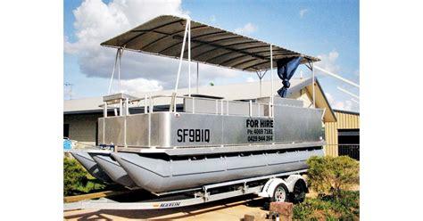 hire boats for sale australia 2009 pontoon aluminium hire boat for sale trade boats