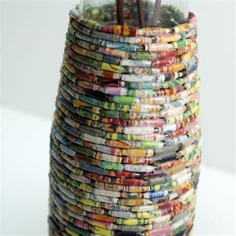Recycled Magazine Paper Crafts - best 25 recycled paper crafts ideas on