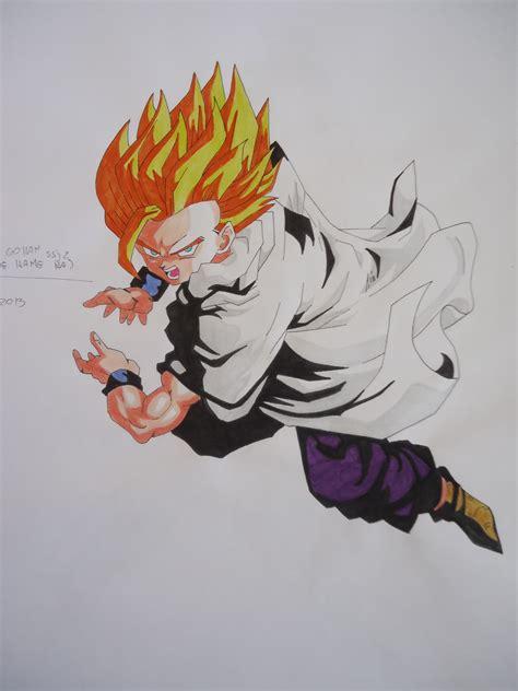 imagenes de goku adulto mis dibujos de dragon ball z gt y otros arte taringa