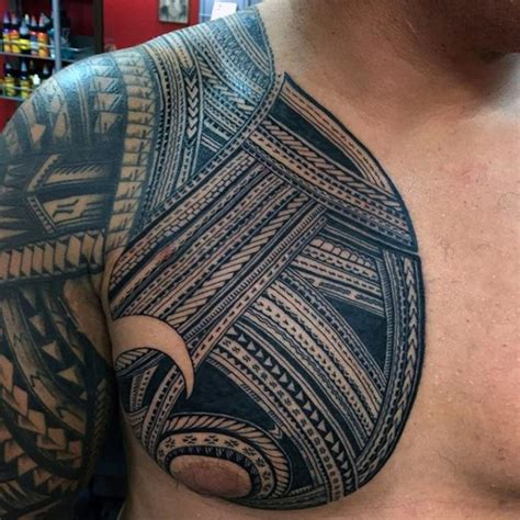 nice chest tattoos for men 90 designs for tribal ink ideas