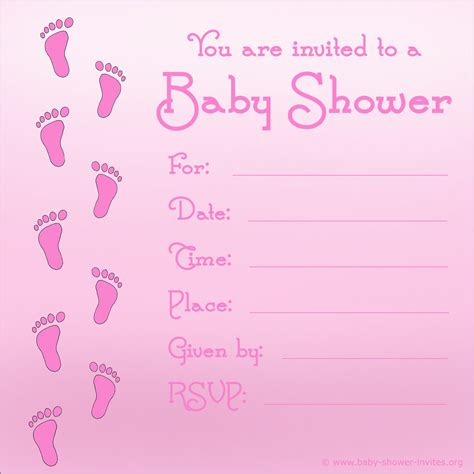Free Baby Shower Invitation Templates Printable by Free Printable Baby Shower Invitations For