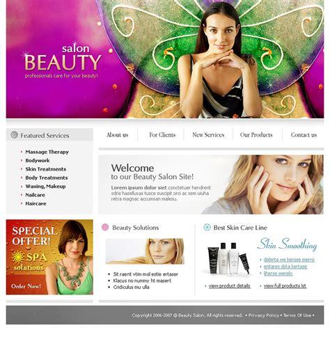 Beauty Salon Website Template Web Design Templates Website Templates Download Beauty Salon Makeup Website Templates