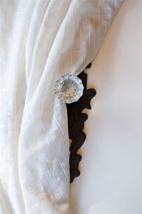 curtain tie back knobs 1000 images about curtain tie ideas on pinterest window