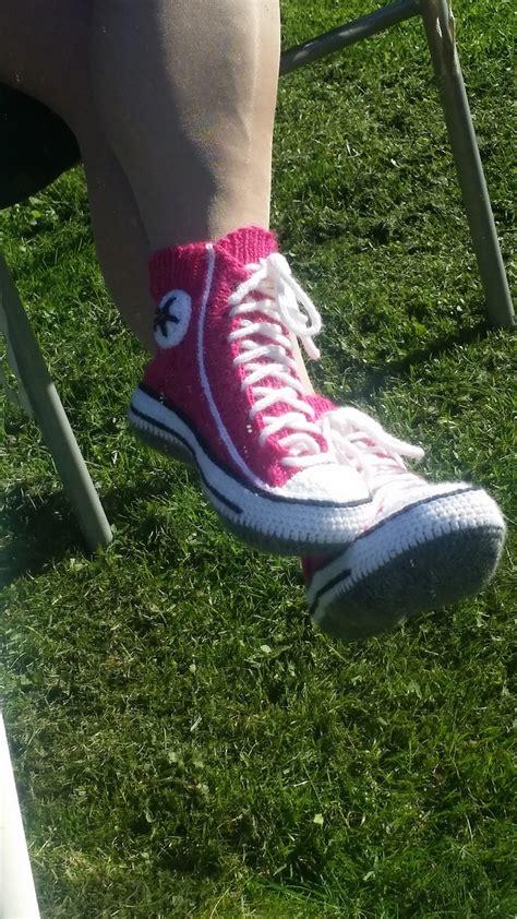 knitted sneakers pattern knitted sneakers pattern reimagines converse shoes into