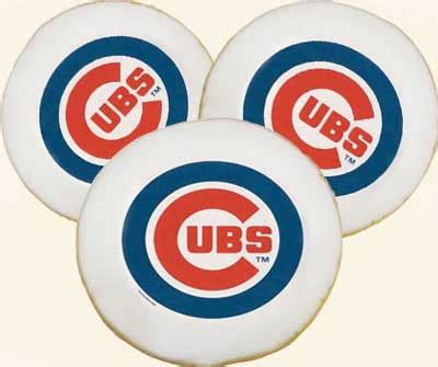 mlb chicago cubs cookies product info    bakery