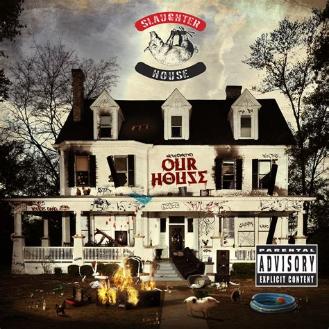 slaughterhouse glass house slaughterhouse reveals welcome to our house album cover release date new single rap dose