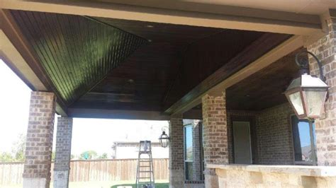arbor  patio cover staining texas  stain