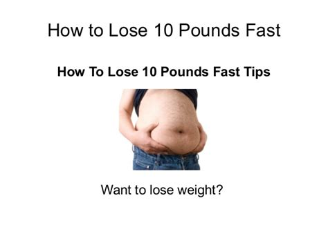 12 Tips On How To Lose Fast by How To Lose 10 Pounds Fast 7 Effective Tips