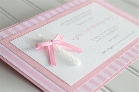 handmade 1st birthday invitations ideas 17 best ideas about handmade invitations on