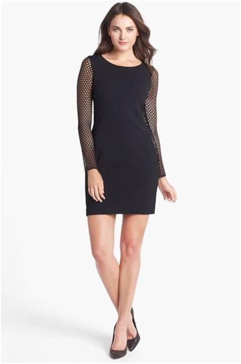 Cutout Sheath Knit Dress betsey johnson cutout detail ponte knit sheath dress in