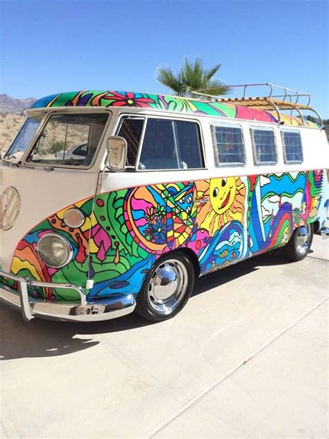 love painted vw hippy vans home facebook