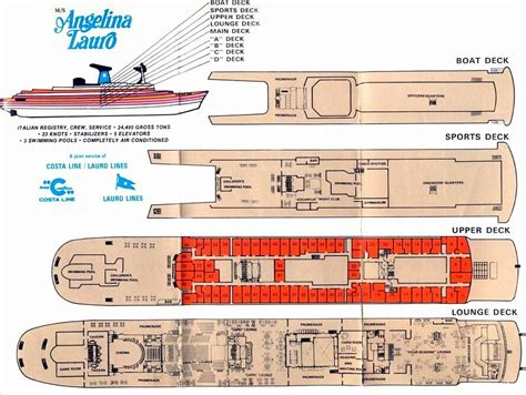 cruise ship floor plan space cargo ship deck plan page 4 pics about space