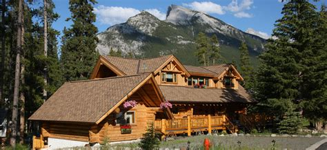 Cabins In Banff by Banff Log Cabin Bed Breakfast Accommodation