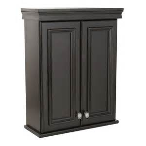 Elegant home fashions cape cod 22 5 in w wall cabinet with two glass