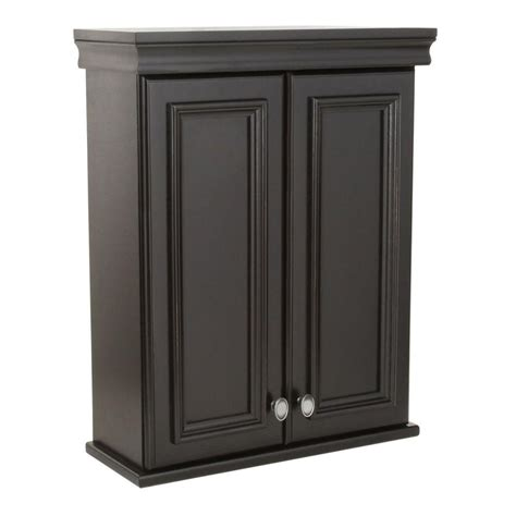 bathroom wall cabinets home depot st paul valencia 22 in w x 28 in h x 9 7 50 in d over the toilet bathroom storage
