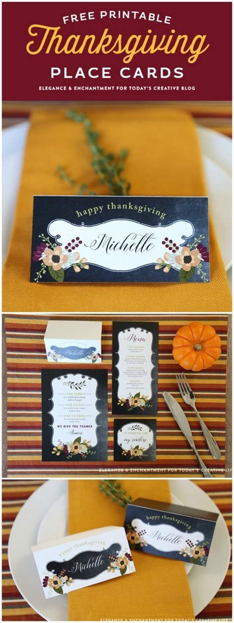 thanksgiving table name cards best 25 thanksgiving name cards ideas on diy