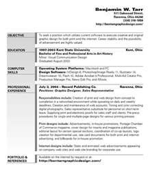 Graphic Design Resume Objective Examples graphic design objective resume latest resume format
