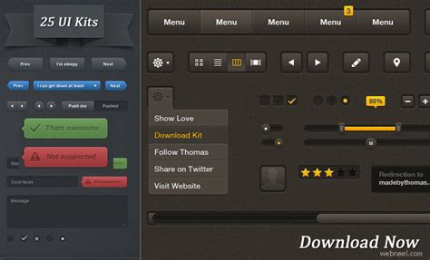 user interface templates 25 free high quality user interface psd source files for
