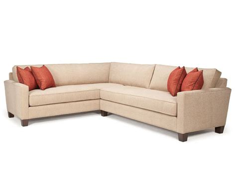 devon 5 piece microsuede sectional brown the brick chocolate brown or grey leather or fabric argh