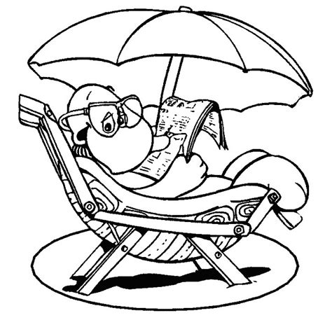 coloring pages summer free coloring pages of summer