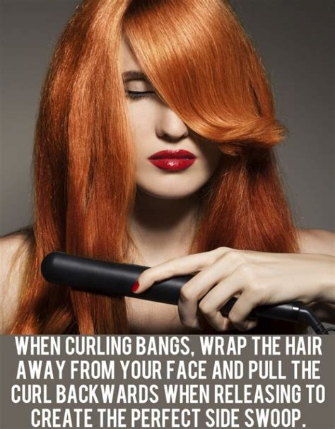 bangs curled away from face best 25 curled bangs ideas on pinterest curly fringe