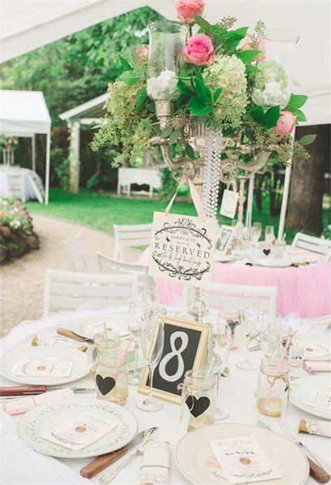 Tischdeko Vintage Hochzeit by Vintage Hochzeit 120 Charmante Dekoideen Archzine Net
