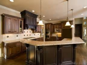 dark brown kitchen cabinets pictures of kitchens