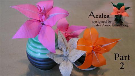 Origami Azalea - origami azalea part 2