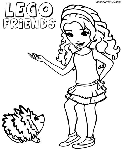 coloring pages of lego friends lego friends coloring pages to print az coloring pages