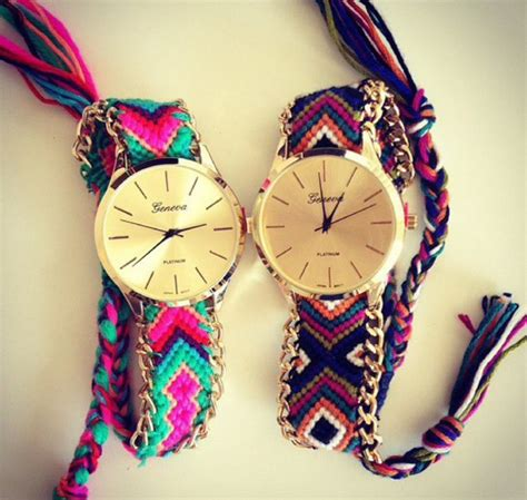 Tribal Pattern Watch | gloves watch tribal pattern wheretoget