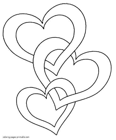 coloring page of a heart hearts printable coloring pages kids coloring europe