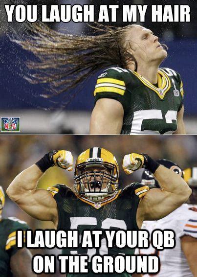 Green Bay Packers Memes - clay matthews hair daily snark