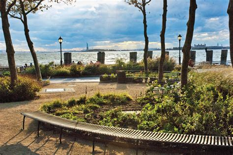 Battery Garden by The Amazing Battery Park New York America World For