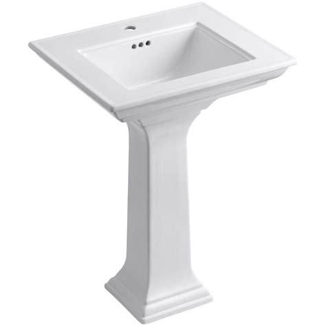 kohler memoirs stately pedestal 24 kohler memoirs stately ceramic pedestal bathroom