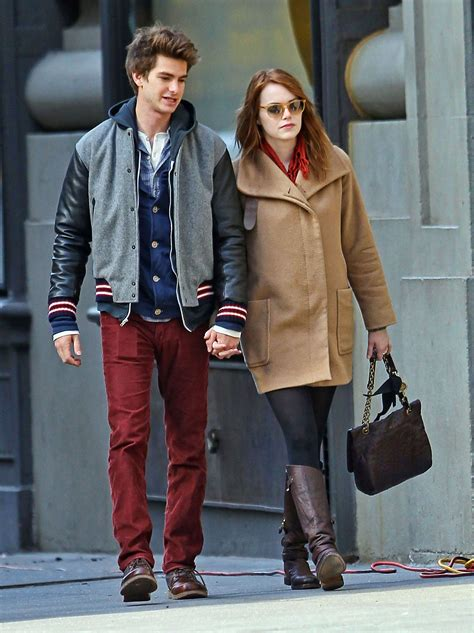 emma stone andrew garfield andrew garfield and emma stone