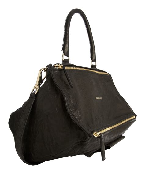 givenchy black medium pandora bag in black lyst