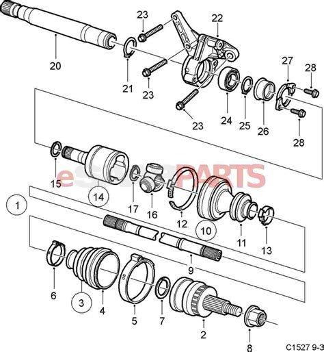 shaft diagram saab 9 3 transmission diagram saab 9 3 headlight diagram