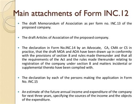 section 6 companies act section 8 of companies act 2013