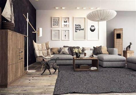 como decorar sala negra 22 dise 241 os de salas en color gris para inspirarte