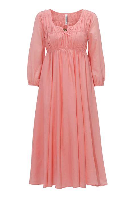 Pink Flow Dress Qif chiara forthi flow dress pink bubbleroom