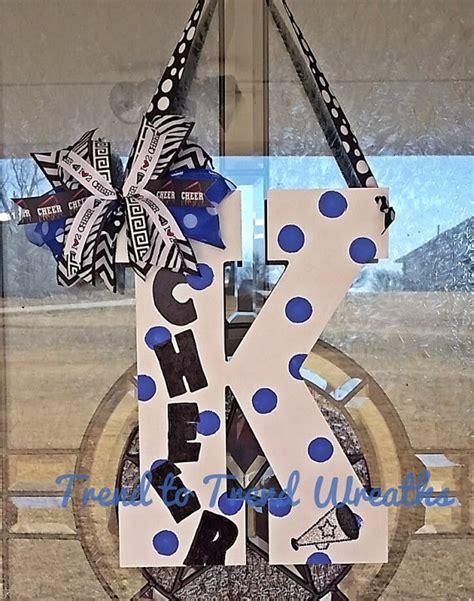 cheer letter cheerleading wall decor cheer gift cheer