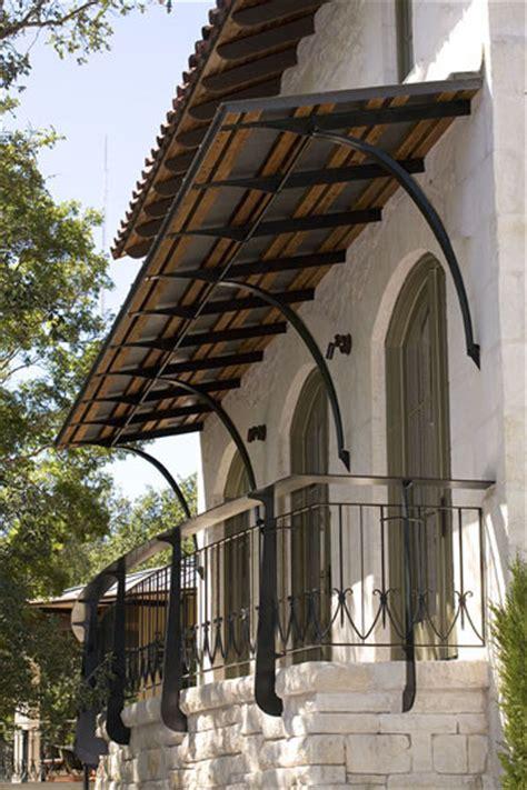 decorative awning brackets balcony wrought iron rail