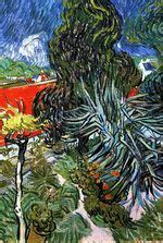 Doctor Gachet S Garden In Auvers vincent van gogh paintings by 1890 in high definition art