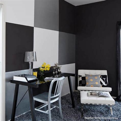 black wall paint black wall painting ideas home staging accessories 2014