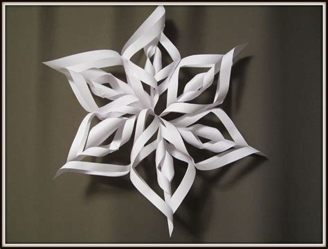 paper snowflake and craft for how to make 3d