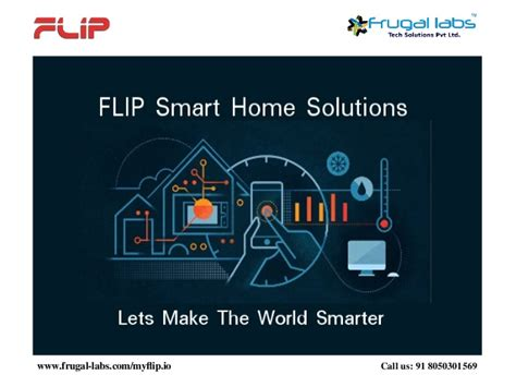 smart home solutions flip smart home solutions