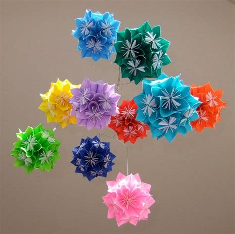 Starburst Origami - starburst origami flower pictures to pin on