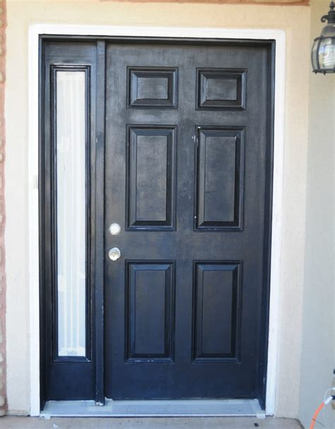 how to paint a front door how to paint your front door in a snap