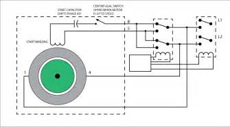 ac motor wiring rotation wiring diagrams