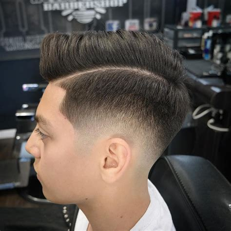 faded side haircut side part haircuts 40 best side part hairstyles for men
